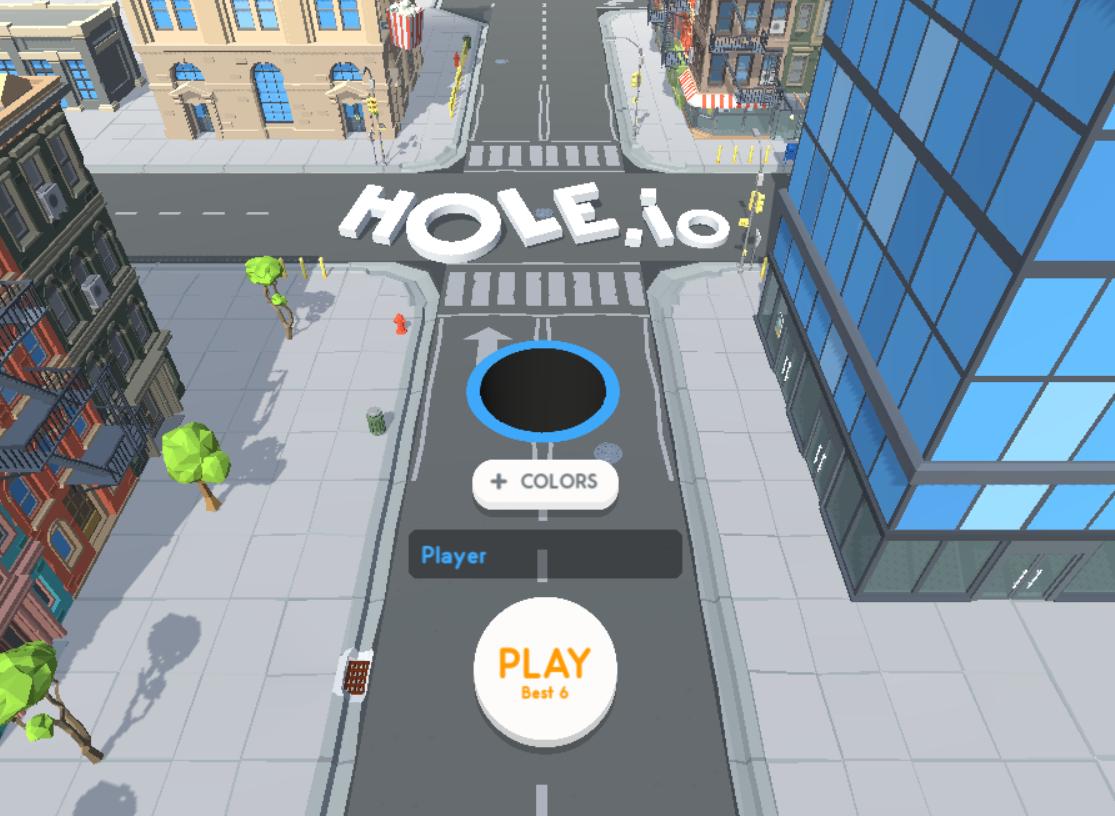 Hole-io gameplay